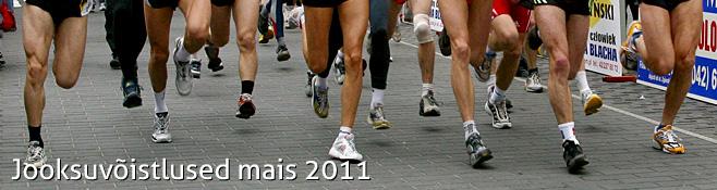 Jooksuvõistlused mais 2011