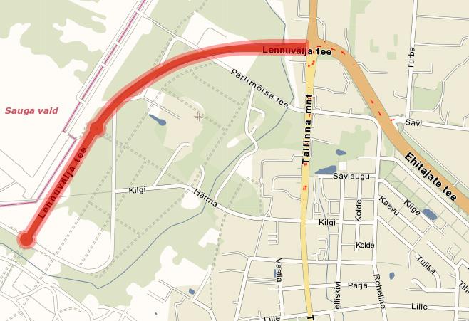 Pärnu Rullimaratoni kaart