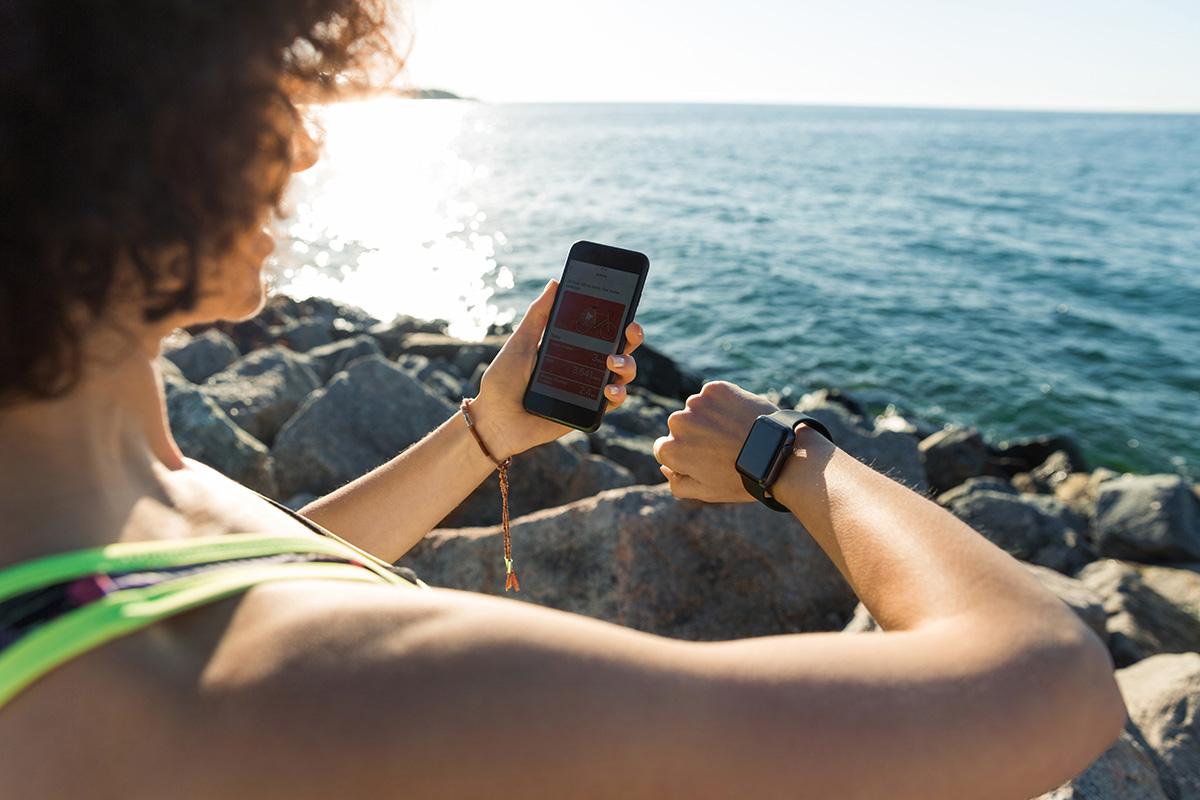 Sotsiaalsed treeningujälgimisteenused nutitelefonidele