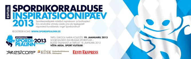 Spordisündmuste korraldajate inspiratsiooni- ja koolituspäeval Narvas
