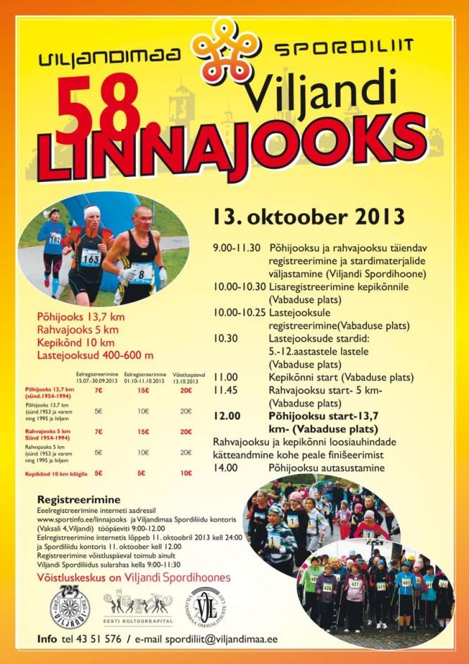 58. Viljandi Linnajooks 2013